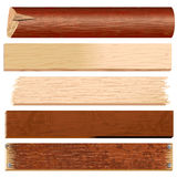 Logs and Planks royalty free illustration