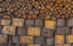 Logs Stack Stock Photos
