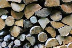 Logs stored Stock Photos