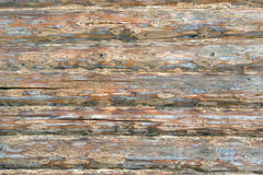 Logs in the wall Stock Photography