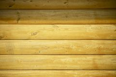 Logs Wood Home Wall Stock Photos