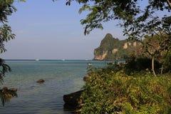 Loh-Dalum Bay, Island Phi Phi,  Thailand Royalty Free Stock Photography