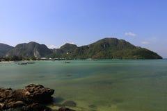 Loh-Dalum Bay, Island Phi Phi,  Thailand Royalty Free Stock Images