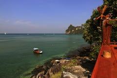 Loh-Dalum Bay, Island Phi Phi,  Thailand Royalty Free Stock Image