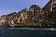 Loh-Dalum Bay, Phi Phi,  Thailand Royalty Free Stock Photo