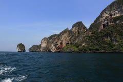 Loh-Dalum Bay, Phi Phi,  Thailand Stock Images