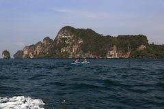 Loh-Dalum Bay, Phi Phi,  Thailand Royalty Free Stock Image