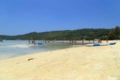 Loh Dalum beach, Phi-Phi Don island Royalty Free Stock Photos