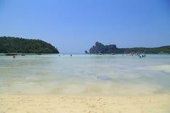 Loh Dalum beach, Phi-Phi Don island Stock Images