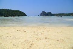 Loh Dalum beach, Phi-Phi Don island Royalty Free Stock Photo