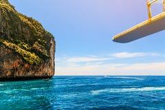 Loh sa ma zatoki Phi Phi wysp andaman morze Krabi, południe Thaila Obrazy Stock
