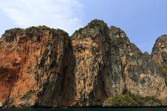Loh Samah Bay, Island Phi Phi Leh,  Thailand Royalty Free Stock Image