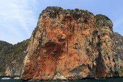Loh Samah Bay, Island Phi Phi Leh,  Thailand Stock Photo