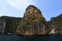 Loh Samah Bay, Island Phi Phi Leh,  Thailand Royalty Free Stock Images
