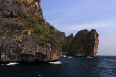 Loh Samah Bay, Island Phi Phi Leh,  Thailand Royalty Free Stock Photo
