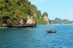 Loh samah bay at phi island, krabi Thailand. Royalty Free Stock Image