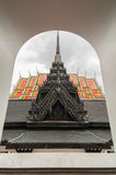 Loha prasart at Wat Rachanutda Temple in Bangkok ,Thailand Royalty Free Stock Image