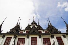 Loha Prasat金属宫殿 免版税图库摄影