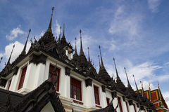 Loha Prasat金属宫殿 图库摄影