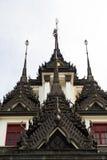 Loha Prasat,金属宫殿 免版税库存照片
