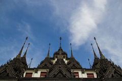 Loha Prasat το παλάτι μετάλλων Στοκ εικόνες με δικαίωμα ελεύθερης χρήσης
