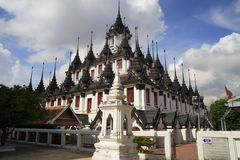 Loha Prasat in Bangkok Royalty Free Stock Images