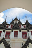 Loha Prasat a Bangkok Fotografia Stock