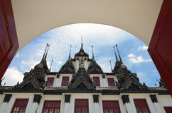 Loha Prasat in Bangkok Stock Images