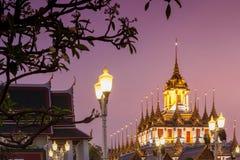 Loha Prasat Bangkok Stockbild