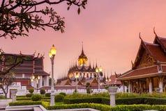 Loha Prasat Bangkok Stock Images