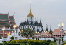 Loha Prasat in Bangkok, Thailand Royalty Free Stock Photography