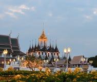 Loha Prasat in Bangkok, Thailand Royalty Free Stock Photo