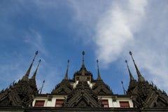 Loha Prasat il palazzo del metallo Immagini Stock Libere da Diritti
