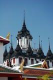 Loha Prasat Metal Castle or Iron Temple  in Bangkok Stock Image