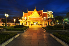 Loha Prasat Metal Palace. In Bangkok Thailand Royalty Free Stock Images