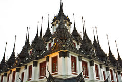 Loha Prasat Metal Palace in Bangkok Stock Images