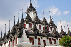 Loha Prasat, Metal Palace, Bangkok Royalty Free Stock Photos