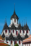 Loha Prasat, the Metal Palace, Bangkok Thailand Stock Photos