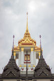 Loha Prasat Metal Palace in Bangkok Thailand Royalty Free Stock Image