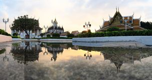 Loha Prasat Metal Palace, Bangkok Thailand Royalty Free Stock Images