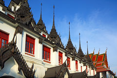 Loha Prasat Metal Palace Stock Photo