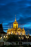 Loha Prasat Metal Palace in Wat ratchanadda Royalty Free Stock Photos