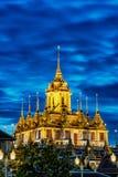 Loha Prasat Metal Palace in Wat ratchanadda Stock Image