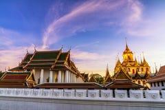 Loha Prasat Metal Palace in Wat ratchanadda, Royalty Free Stock Photo