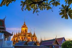 Loha Prasat Metal Palace in Wat ratchanadda, Royalty Free Stock Image