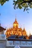 Loha Prasat Metal Palace in Wat ratchanadda, Stock Photos