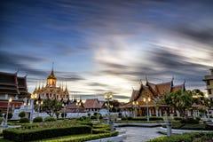 Loha Prasat Metal Palace in Wat ratchanadda Stock Images