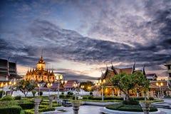 Loha Prasat Metal Palace in Wat ratchanadda Royalty Free Stock Image