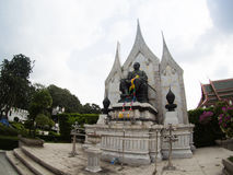 Loha Prasat at Wat Ratchanadda area in Bangkok, Thailand. Stock Photos