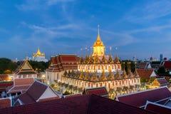 Loha Prasat at Wat Ratchanadda in Bangkok,Thailand Royalty Free Stock Image